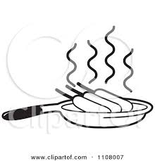 pan clipart black and white. corn clip art black and white pan clipart