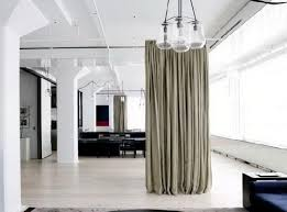 Elegant Wonderful Hanging Fabric Room Divider Curtain Houzz Dividing Design Best 25  Idea Cheap From Ceiling On
