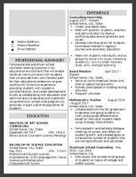 Modern Column Resume Modern Resume Cover Letter