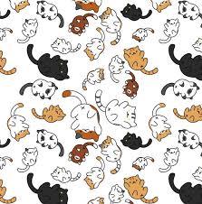 cute cat pattern wallpaper. Modren Cat Clipart Cat Patterns Best 25 Pattern Ideas On Pinterest Felt Door Stopper With Cute Wallpaper
