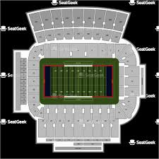 Ohio Stadium Seating Chart Ohio Stadium Seat Map Secretmuseum