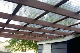 translucent patio roof panels lovely clear corrugated roofing 4 plastic polycarbonate panel 26 in x 12