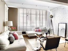Create An Elegant Statement With A White Brick Wall  White Brick White Brick Wall Living Room