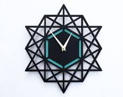 Small Picture Modern Wall Clocks and Home Decor by decoylab on Etsy