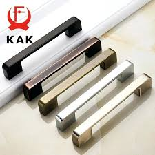 zinc black cabinet handles style kitchen cupboard pulls drawer s fashion furniture handle door hardware nz
