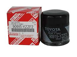 Toyota Oil Filter Chart Toyota Genuine Parts 90915 Yzzf2 Oil Filter