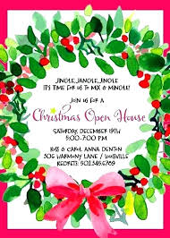 party invite templates free corporate holiday party invitation template free open house