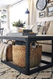 storage space under the coffee table