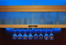 lighting for a bar. View In Gallery Neon Lighting A Kitchen Bar Space For P