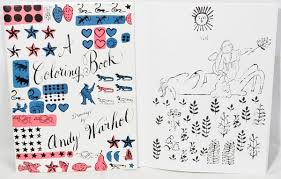 a coloring book drawings by andy warhol september 30 2011 posted under previous next