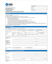 Loan Application Form 31 Student Application Form Examples