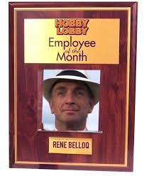 Employee Of The Month Photo Frame Example Certificate Plaque Webarchiveorgemployee Of The Month