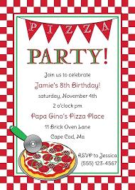 Pizza Party Invitation Templates 8th Birthday Invitation Templates Lukegraham Invitation Ideas