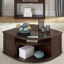 coffee table gl top with storage