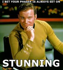 Captain Kirk Pick-Up Lines - Halloween Costumes Blog via Relatably.com