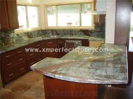rainforest green marble countertop prefab
