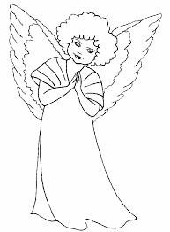 Kerst Engel Kleurplaat Inkleur Plaat Inkleurplaat