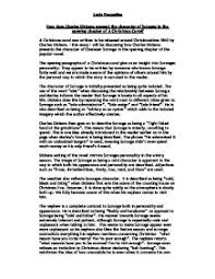 how does charles dickens present the character of scrooge in the charles dickens acircmiddot a christmas carol page 1 zoom in