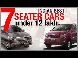 indian best 7 seater cars under 12 lakh
