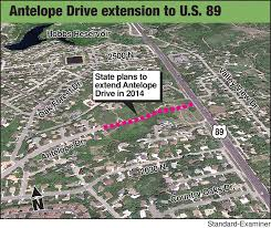 highway 89 antelope drive project delayed