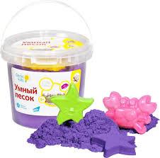 <b>Genio</b> Kids <b>Кинетический песок</b> Умный песок цвет фиолетовый 1 кг