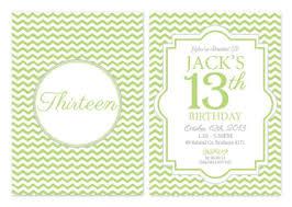 13th Party Invitations 13th Birthday Party Invitations Custom Made Australias