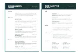 Single Page Resume Template Magnificent Apple Pages Resume Template Templates For Mac Word Within 48 Temp