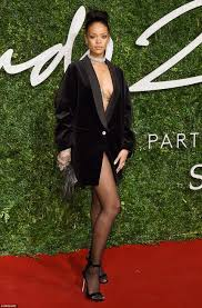 Rihanna Cara Delevingne and Kate Moss out in force for British.