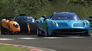 Pagani Zonda Cinque Roadster vs Pagani Huayra / Nürburgring ...