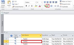 Microsoft Project Tutorial How To Add Milestone Task In Ms