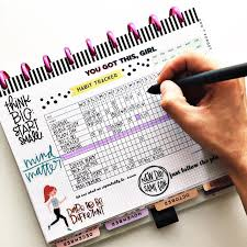 Day Tracker Planner This Free Printable Habit Tracker Will Help You Reach Your Goals