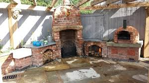 brick wood oven pizza oven outdoor kitchen brick wood pizza oven plans