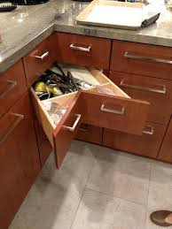 cabinets with drawers. corner drawer is outstanding for reclaiming lost space. cabinets with drawers d