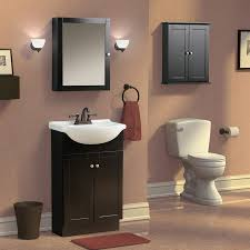 Brown Painted Bathrooms Bathroom Paint Colors With Espresso Cabinets Should Match The