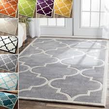 oliver james alba handmade trellis rug 5 x 8 free with regard to com
