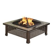 wood burning patio fire pits. Pleasant Hearth Bradford 34-in W Rubbed Bronze Steel Wood-Burning Fire Pit Wood Burning Patio Pits