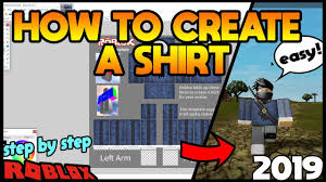 How To Create Your Own Clothes On Roblox How To Create Your Own Shirt Easy Fast Tutorial Roblox