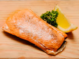 cooked salmon color. Plain Salmon Intended Cooked Salmon Color WikiHow