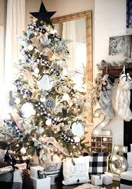 christmas tree decorations 2017 best white tree decorations ideas on pertaining to white house decorations home