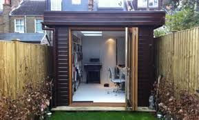 office garden. This Garden Office Fits Perfectly Into London Property. What Better Way To Avoid A