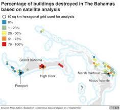 Hurricane Dorian Path Of Destruction Bbc News