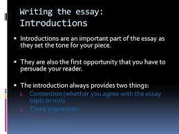 introduction to extended text response structure planning ppt  10 writing the essay introductions
