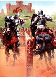 Средние века время рыцарей и замков й класс Рыцари не только воевали но и отдыхали Чем же они были заняты вне войны вы узнаете сложив картинки