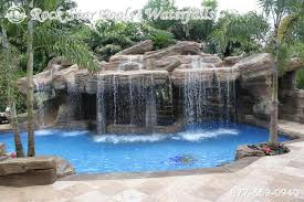 inground pools with waterfalls and slides. Brilliant Design Pools With Waterfalls Charming Rockstar Inground And Slides Y