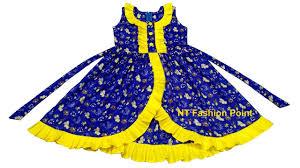 Beautiful & simple <b>kids summer baby girls</b> frocks designs | Cutting ...