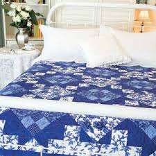 King Size Quilt Patterns Amazing Bed And Breakfast FREE King Size Blue White Bed Quilt Pattern