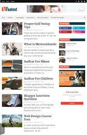 Blogger Templates 2020 Top 10 Responsive Blogger Template 2020 Seo Adsense