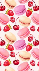 cute fruit iphone wallpaper. Modren Cute Cute Girly Macaroon Wallpaper For Iphone  Best HD Inside Fruit I