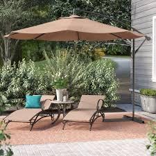 umbrella patio rectangular cantilever umbrellas youll love costco lowe s