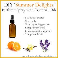 diy essential oil perfume spray recipe